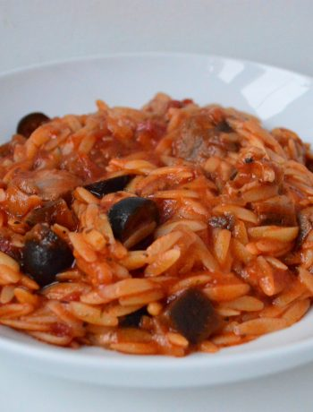 Greek Lamb Orzo Stew