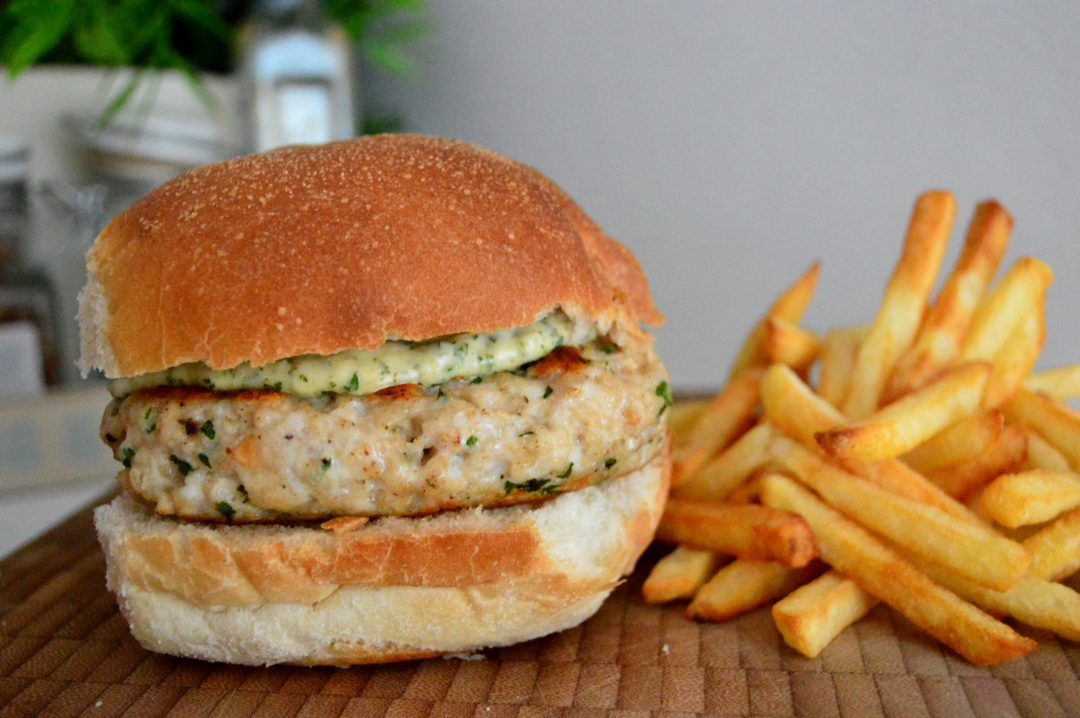 Jerk Chicken Burger