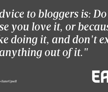 Making Money out of Blogging