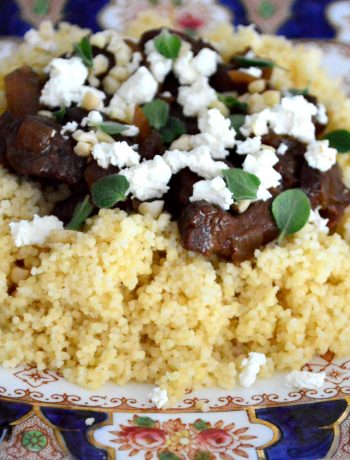 Lamb Cherry Tagine