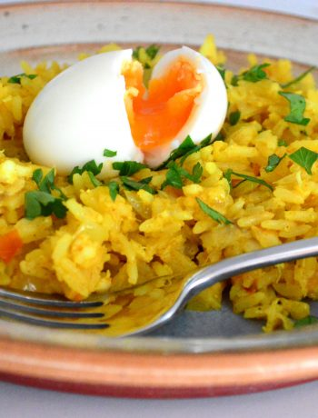 Spicy Tomato Kedgeree