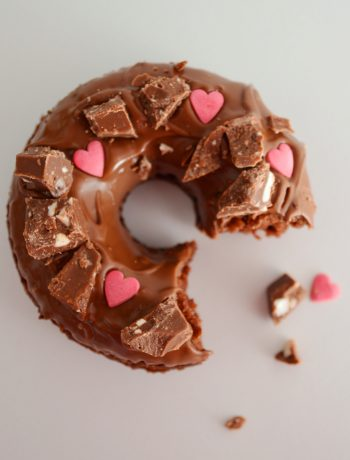 Baked Chocolate Doughnut