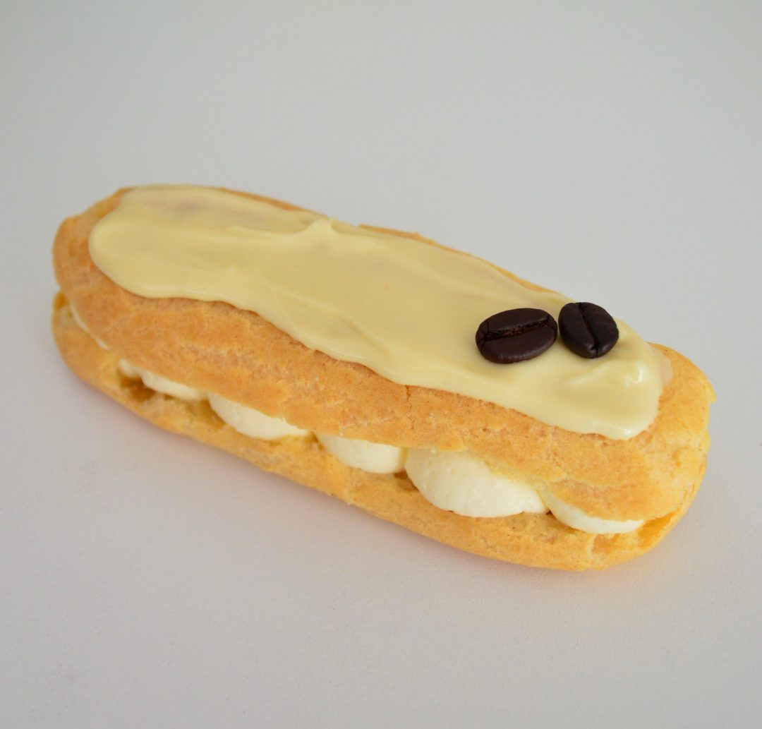White Chocolate Eclairs